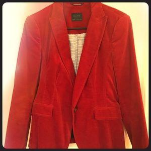 Red Velvet Blazer M